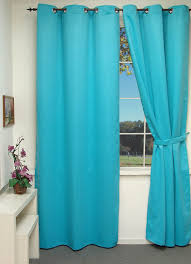 Turquoise Blackout Curtains Blackout Curtains With Eyelets 135 X 260 Cm Turquoise Co