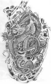 39 best japanese dragon tattoo flash images on pinterest