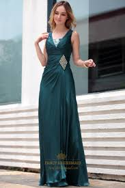 dark green evening dress mother of the bride dresses for beach