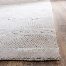 Square Wool Rug Safavieh Handmade Metro Grey New Zealand Wool Rug 8 U0027 Square