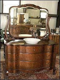 Old Dresser Bathroom Vanity Vanities Antique Dresser Vanity With Vessel Sink Antique Dresser