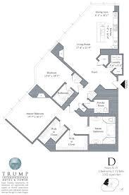 trump tower chicago 401 n wabash floor plans views