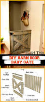 Barn Door Gate by 30 Best Diy Baby Gate Tutorials On Cheap Budget Diy U0026 Crafts