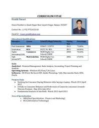 freshers resume sles pdf download resume sle in word document mba marketing sales fresher