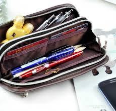 pencil pouches pencil solid multi pocket pencil pouches coolpencilcase
