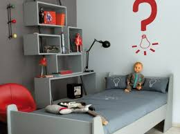 chambre ado grise deco chambre ado garcon gris