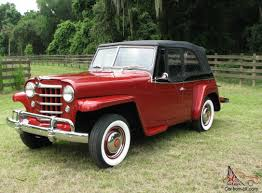 1949 willys jeepster willys overland jeepster concourse restoration