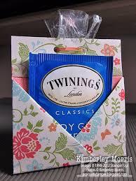 christmas tea party favors teabag cookie favor for tea party guests tea ideas