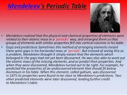 Moseley Periodic Table Purshottam Sharma U0027s Periodic Table Ppt
