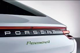 Porsche Panamera Back - 2018 porsche panamera 4 e hybrid revealed motor trend