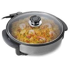 poele electrique cuisine poêle multifonctions 40 cm tristar pz2964 achat vente poêle