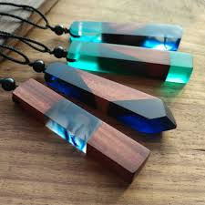 resin necklace pendants images Fashion wood resin necklace pendant men women applicable jewelry jpg
