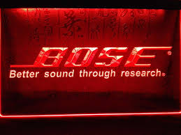 bose systems speakers led sign my trendy bay