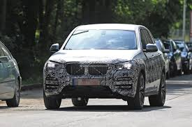 2018 bmw x3 prototype reveals more styling cues unveiling