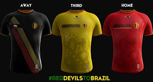 Belgian Flag Burrda Belgium 2014 World Cup Home Away And Third Kits Released