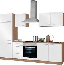 K Henzeile Online Bestellen Küchenzeile Ohne E Geräte Optifit Odense Breite 270 Cm Online