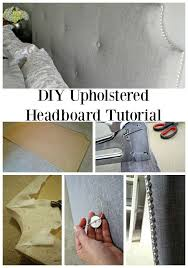 Diy Fabric Tufted Headboard by 38 Best Headboards Images On Pinterest Headboard Ideas Bedroom