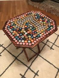 beer cap table top bottle cap table top bottle cap crafts art beer caps beer