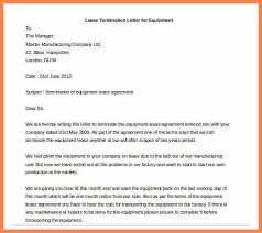 4 sample termination of lease agreement letter purchase