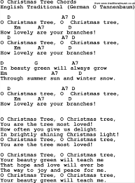 collection o christmas tree lyrics for kids pictures 64 best