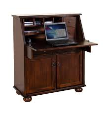 Drop Leaf Computer Desk Sd 2939dc Santa Fe Drop Leaf Laptop Desk Armoire