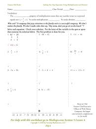 worksheet solving linear equations in one variable worksheets generous contemporary with three variables worksheet