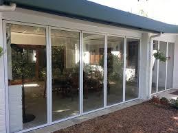frameless glass stacking doors sunplan frameless home