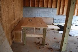 Farmhouse Kitchen Diy Farmhouse Kitchen Table Honeysuckle Footprints