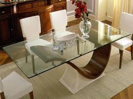 Dining Table Bases For Glass Tops Glass Table Top Dining Table U2013 Ufc200live Co