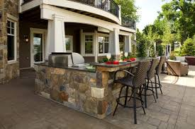 Outdoor Kitchen Bar Stools | outstanding soapstone countertops for outdoor kitchens with split