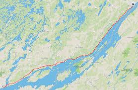 Garden State Parkway Map by Adventure 1000 Islands Parkway By Bike Everyday Adam