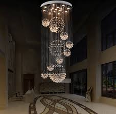 The Crystal Chandelier Crystal Beach Various Sizes Fit 110 240v Modern Spiral Sphere Crystal Chandelier