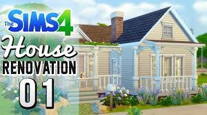 the sims 4 speed build renovation 01 deligracy u0027s starter home