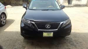 price of lexus rx 350 nairaland registered 2010 lexus rx350 3 9m woji port harcourt autos nigeria