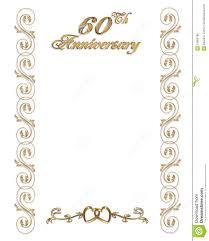 Marriage Anniversary Invitation Card 60th Wedding Anniversary Invitations Template Best Template