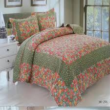 Girls Patchwork Bedding by Yeekin Pastoral Style Princess Patchwork Quilted Sheet 3pc Size