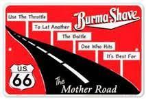 Burma Shave Meme - mime search david foster wallace wiki infinite jest