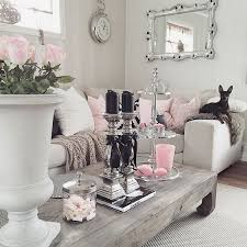 shabby chic livingroom living room shabby chic living room ideas pink and grey curtain