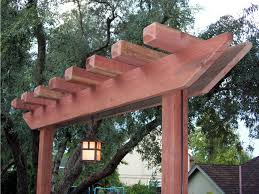 diy trellis arbor how to build a redwood arbor how tos diy
