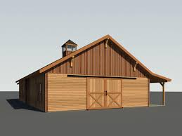 Monitor Style Barn by Blue Ridge Barn Model A