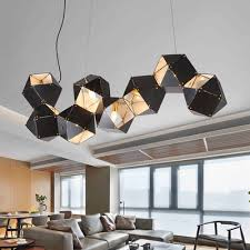 Commercial Chandeliers Black Gold Lshade Cube Rustic Chandeliers Modern Chandelier