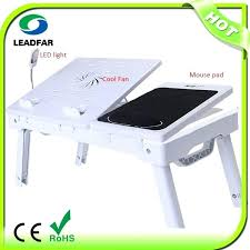 lap desk with fan laptop desk with fan folding manicure lap desk for bed with