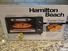 Hamilton Beach Smarttoast 4 Slice Toaster Hamilton Beach Toaster Oven Ebay