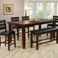 Bar Height Dining Room Sets Bar Height Dining Table With Bench Insurserviceonline Com