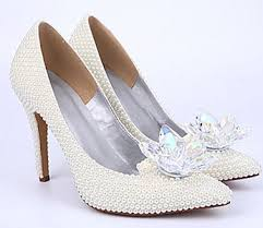 pearl wedding shoes white wedding shoes for brides and bridesmaids find it for weddings