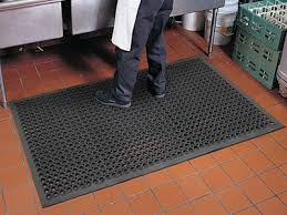kitchen commercial restaurant mats are drainage within industrial
