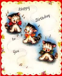 template free birthday ecards singing cats with free 25 unique happy birthday kitten ideas on happy
