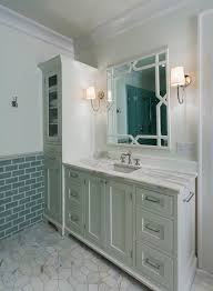 Bathroom Vanity With Linen Tower 50 Best Bathrooms Images On Pinterest Basement Ideas Bathroom