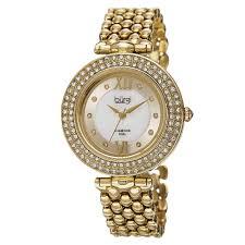 quartz diamond bracelet images Shop burgi women 39 s swiss quartz diamond markers alloy bracelet jpg