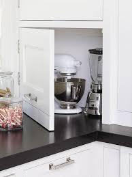 kitchen appliance storage cabinet 55 kitchen storage ideas pantry organisation small